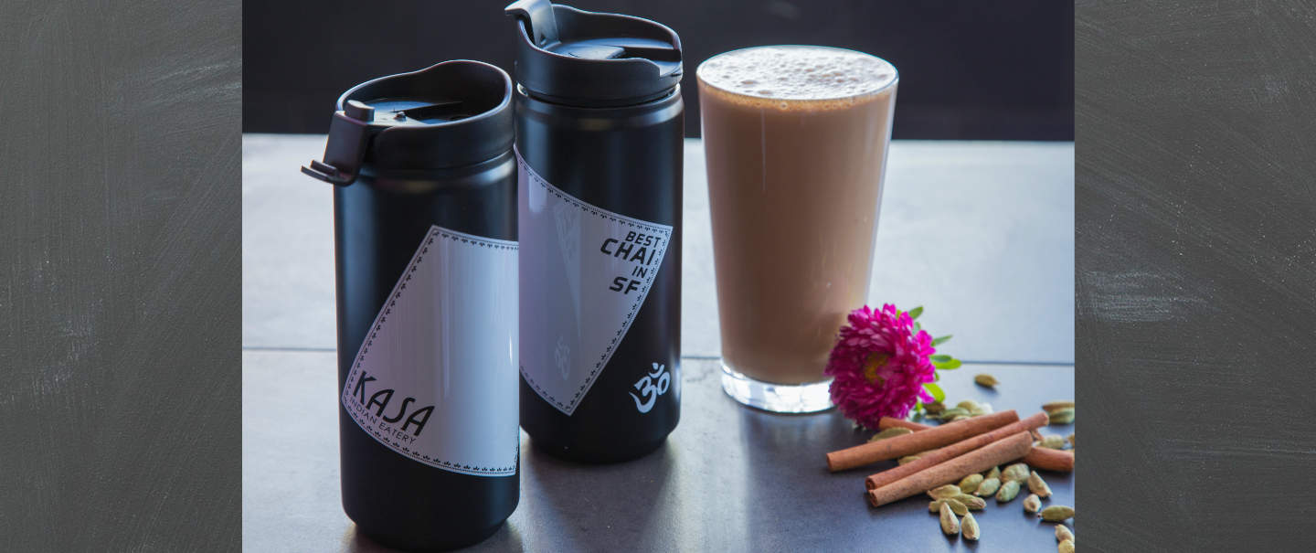 Kasa Indian Eatery - Best Indian Restaurant San Francisco - Chai Thermos